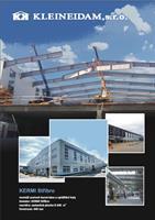Montovaná ocelová konstrukce - KERMI Stříbro